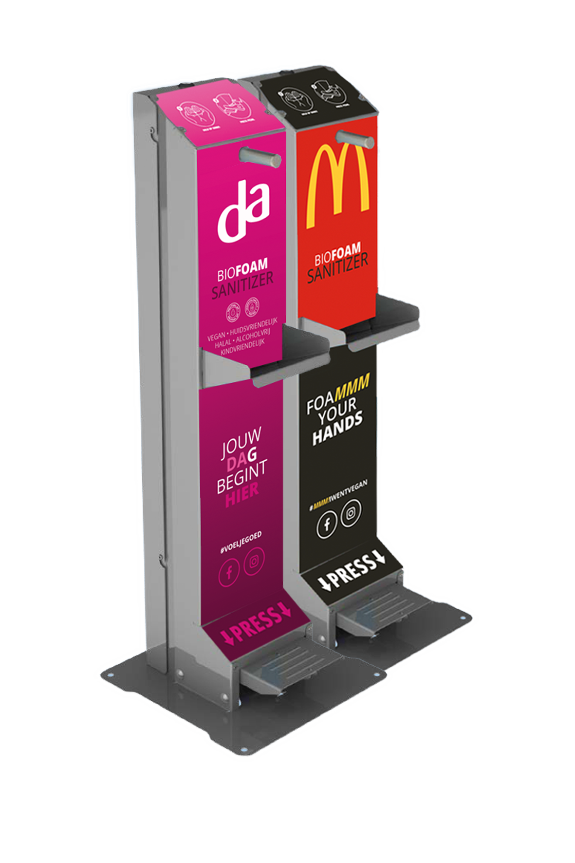 website MCdonalds en DA2